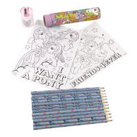 Retro My Little Pony Pencil Tube Travel Set