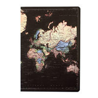 Midnight Blue Man of the World A5 Notebook