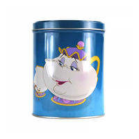 "Beauty & The Beast ""One Lump Or Two?"" Tin Canister"