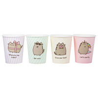 Pack of 8 Pusheen Paper Cups