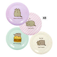 Pack of 8 Pusheen Paper Plates