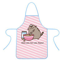 Pusheen Bake Cake, Eat, Repeat Apron