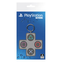 PlayStation Keypad Buttons PVC Keyring