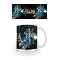 The Legend of Zelda Breath of the Wild Game Cover Mug