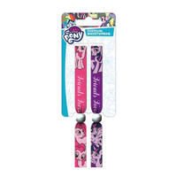 My Little Pony Pack of 2 Festival Wrist Bands
