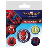 Spider-Man Homecoming Badge Pack