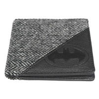 Batman Herringbone Tweed & Faux Leather Wallet Thumbnail 2