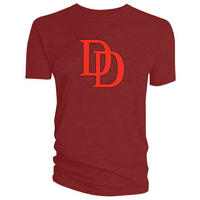 Red Daredevil Logo T-Shirt
