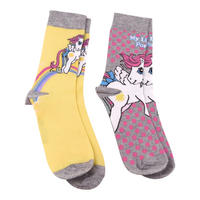 My Little Pony 2 Pack of Ladies Socks