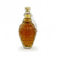 Glass Hand Grenade Decanter