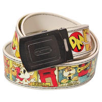 Danger Mouse Cartoon Strip Adjustable Faux Leather Belt