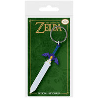 The Legend of Zelda Master Sword PVC Keyring