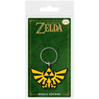 The Legend of Zelda Triforce Golden Triangle PVC Keyring