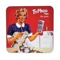 "Typhoo Tea ""Goes Further"" Single Coaster"