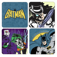 View Item Batman Coaster Set (4 Coasters)