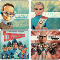 View Item Thunderbirds Coaster Set (4 Coasters)
