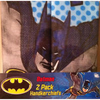 Batman Superhero Pack Of 2 Hankies