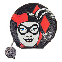 Harley Quinn Glitter Zipped Coin Purse