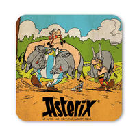 Asterix & Obelix Boar Hunting Coaster