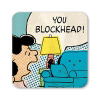 "Lucy ""You Blockhead!"" Coaster"