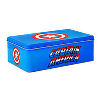 Captain America Shield Hinged Gadget Tin Thumbnail 1