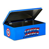 Captain America Shield Hinged Gadget Tin Thumbnail 2