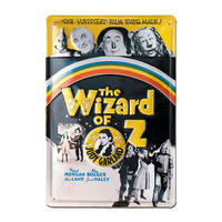 The Wizard Of Oz 30cm x 20cm Embossed Steel Sign