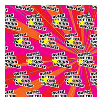 Queen Of The F*cking Universe Gift Wrap x 3 Sheets