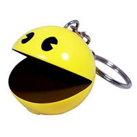 View Item Namco Pac Man Keyring With Authentic Sounds