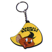 Looney Tunes Speedy Gonzales Rubber Keyring