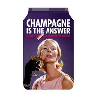 Champagne Is The Answer (I'm Far Too P*ssed To Remember The Question) Travel/Oyster Card Holder