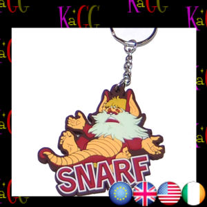 NEW THUNDERCATS SNARF KEYRING RETRO TV METAL LOOP 80s