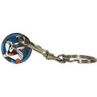 View Item Looney Tunes Bugs Bunny Shopping Trolley Token/Coin Keyring