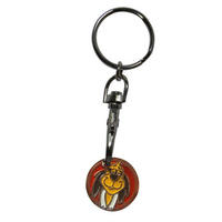 View Item Hanna Barbera Hong Kong Phooey Shopping Trolley Token/Coin Keyring