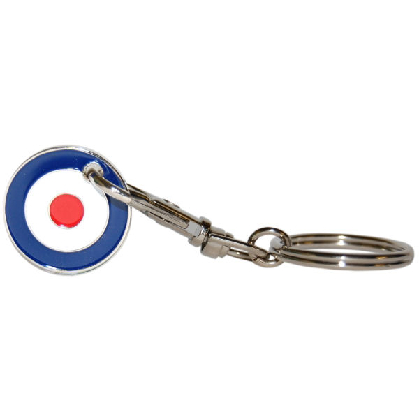 Mod Symbol/RAF Target Shopping Trolley Token/Coin Keyring Preview