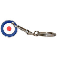 View Item Mod Symbol/RAF Target Shopping Trolley Token/Coin Keyring