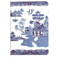Blue Willow Pattern A6 Notebook