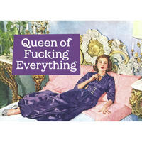 "View Item ""Queen Of Fucking Everything"" Fridge Magnet"