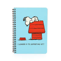 "Peanuts ""I Wonder If It's Suppertime Yet?"" A5 Softback Notebook"