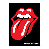The Rolling Stones Lips Postcard