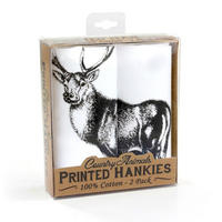 2 Pack Of Stag Hankies
