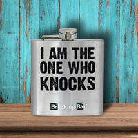 "Breaking Bad ""I Am The One Who Knocks"" Hip Flask Thumbnail 2"