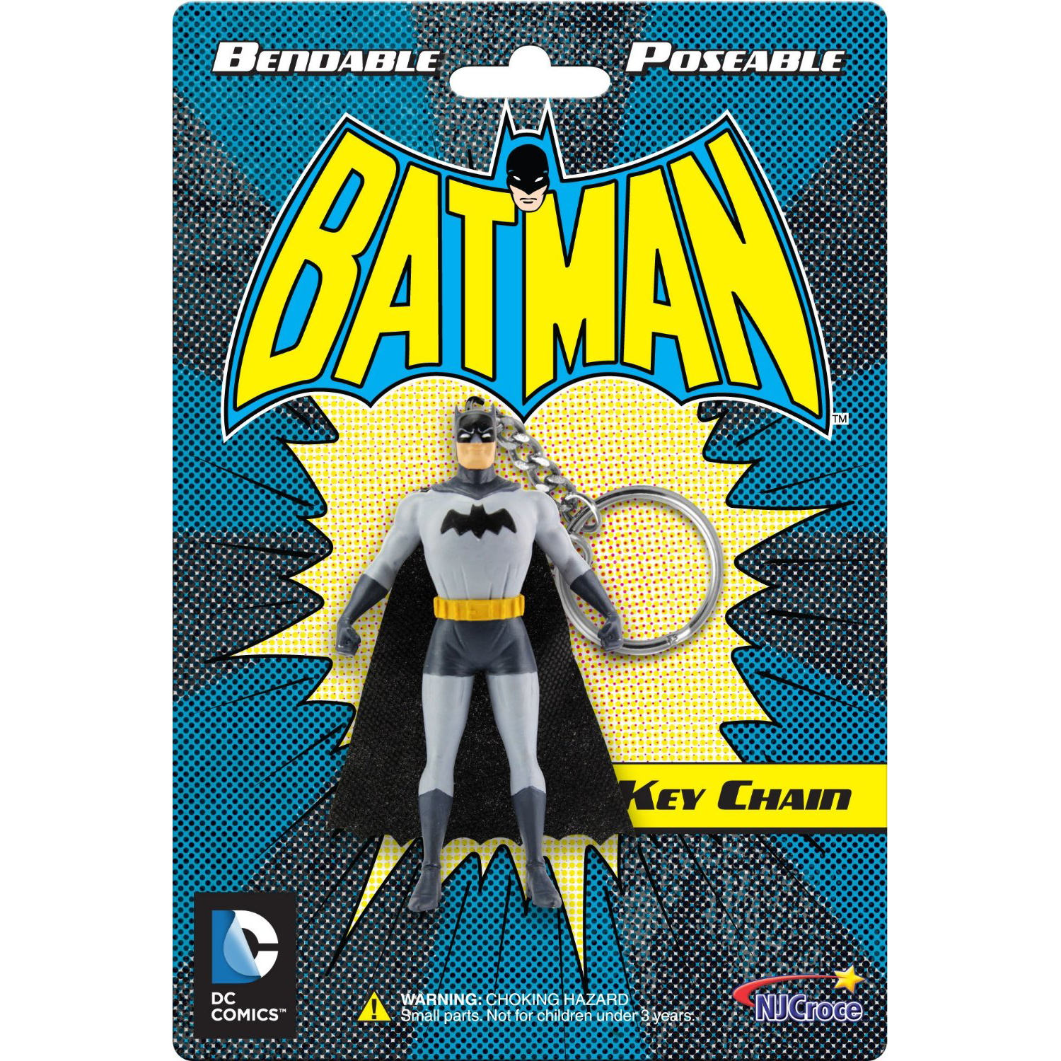"Batman 3"" Bendable Keyring"