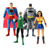 "Justice League Set of 5.5"" Bendable Action Figures"