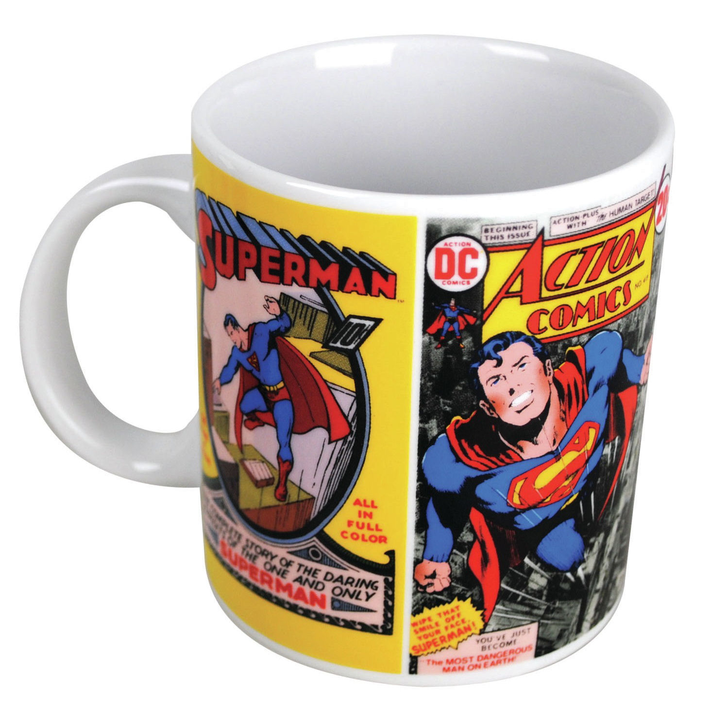 Superman Vintage Comic Covers Mug Preview