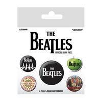 The Beatles Logo Badge Set
