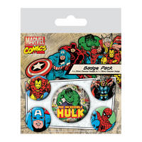 Hulk Badge Set