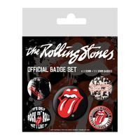 Rolling Stones Badge Set