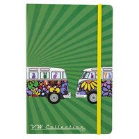 Love Bus VW Camper Van A5 Hardback Notebook