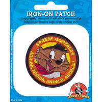 Looney Tunes Speedy Gonzales Embroidered Iron-On Patch